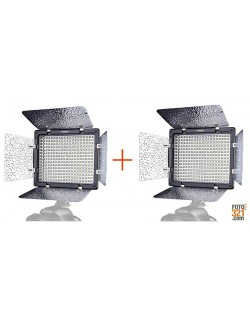 Kit 2x Led YongNuo YN 300